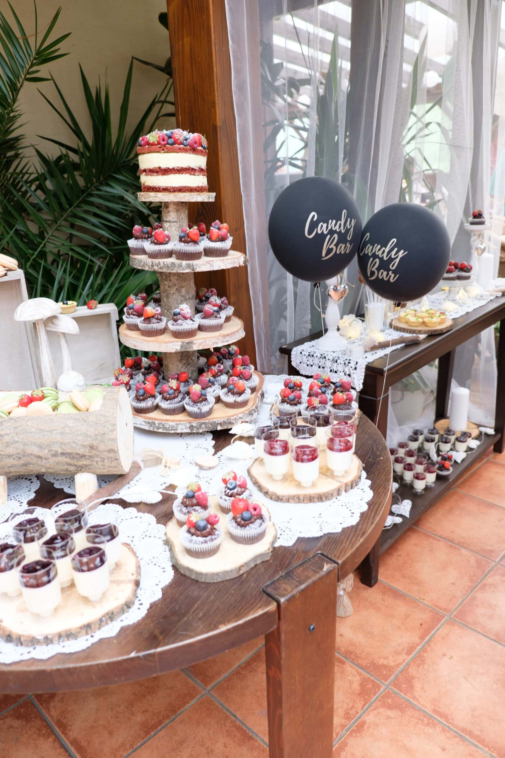 Hochzeit Torte und Süßes