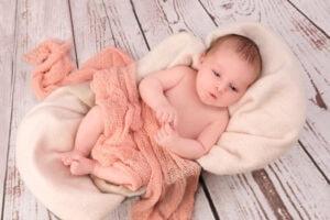 Neugeborenen Fotografie Hände wach
