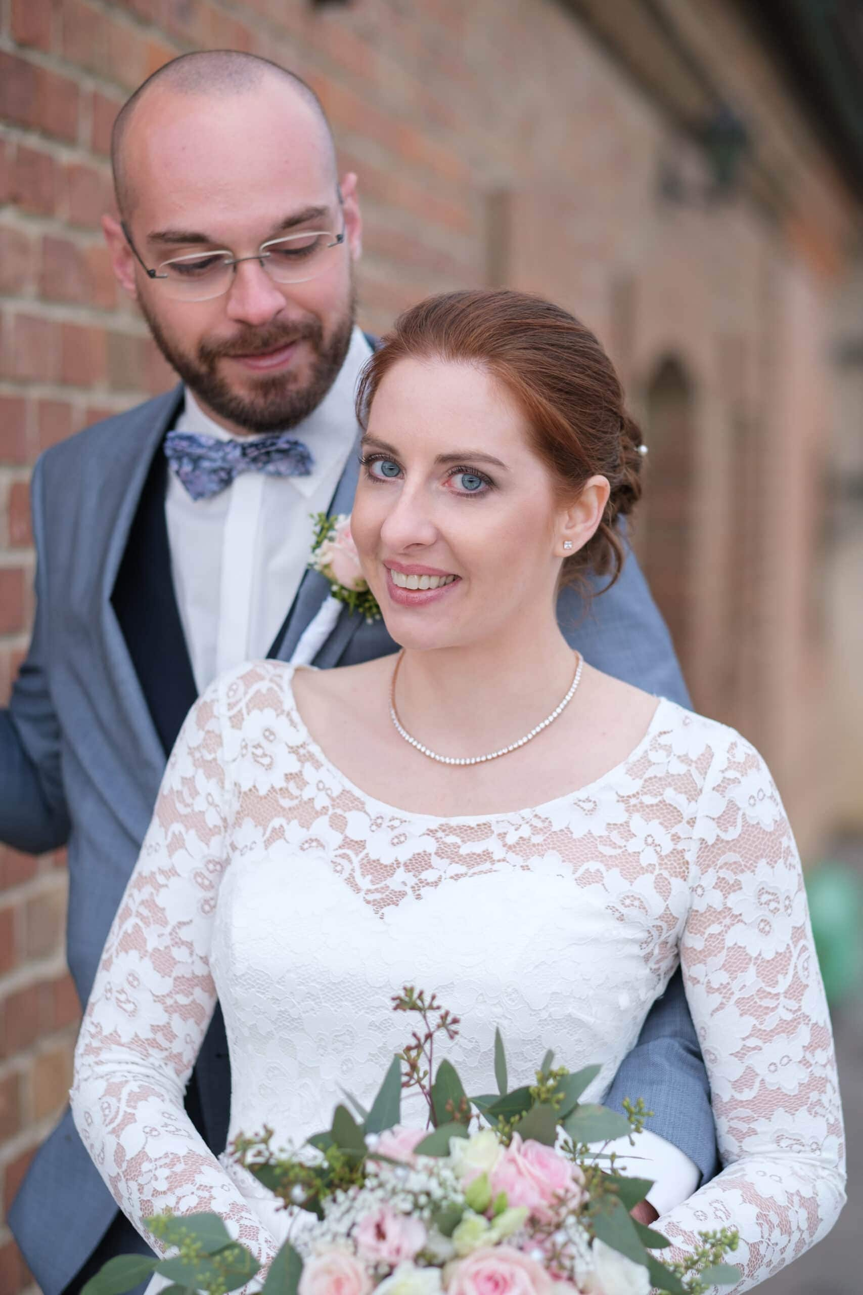 Hochzeit Brautpaar Porträt