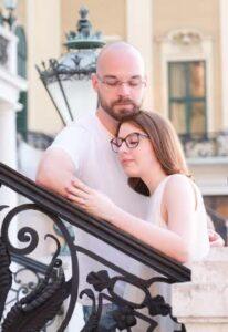 Verlobungsshooting im Schlosspark Schönbrunn